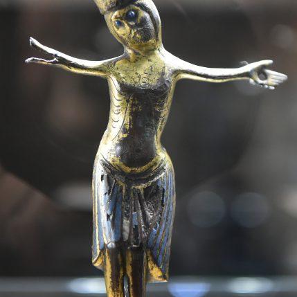 Christ en émail champlevé - 13ème (1)