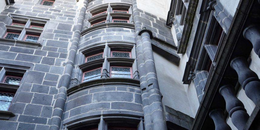 la tourelle d'escalier