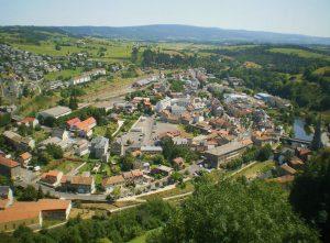 vue de Saint-Flour depuis le musée (1)