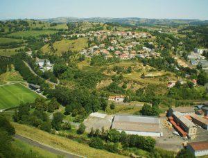 vue de Saint-Flour depuis le musée (2)