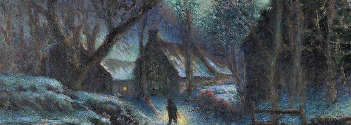 Leon Boudal-Groire à la tombée de la nuit - Musée des Peintres de Murols
